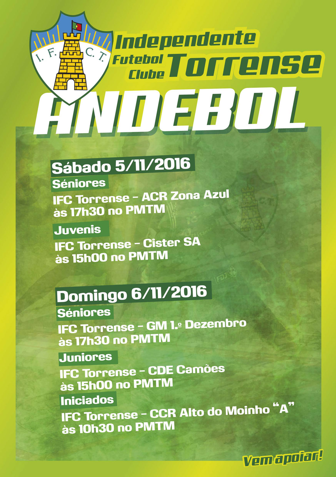 andebol 5e6Nov2016
